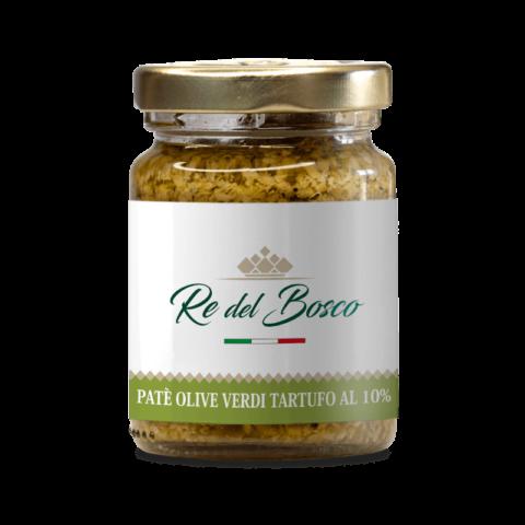 paté di olive verdi al tartufo 10%